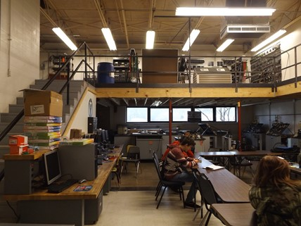 Classroom at the Area Technology Center